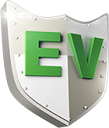 3D EV Shield logo