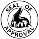 SEAL OF APPROVAL, with a circus seal animal