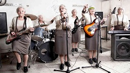 Rock group of grannies
